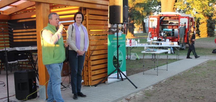 Pan starosta a s Jarmilou Dvořákovou