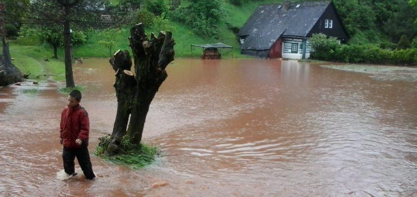Povodně Rudník 2013